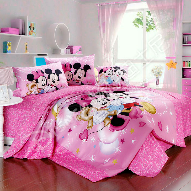 Image Result For Minnie Mouse Toddler Bed Set Pink